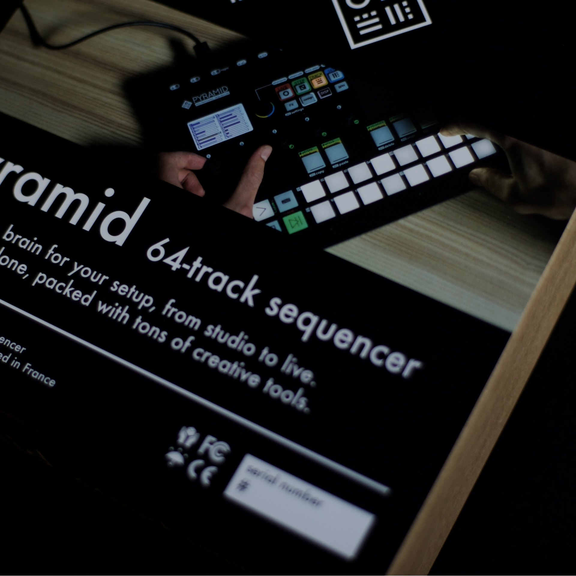 PYRAMID MIDI sequencer